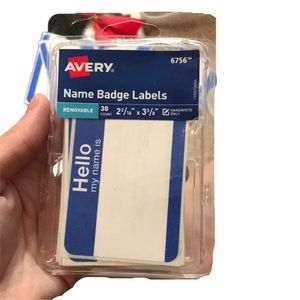 🎁42 Nametag stickers